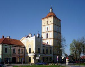 leżajsk ratusz i wieża